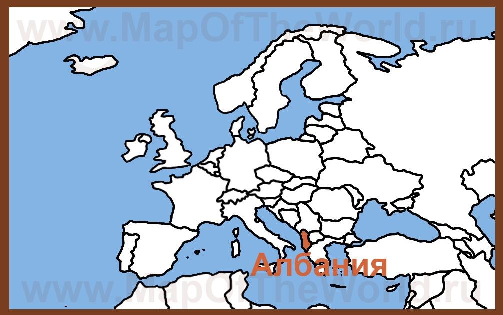 скачать карту албании - фото 9