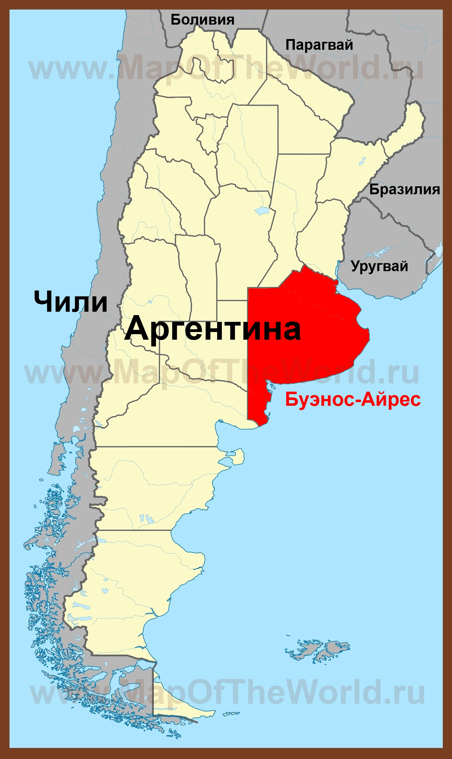 Аргентина где находиться