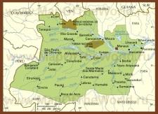 Подробная карта штата Амазонас