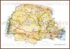 Туристическая карта Параны