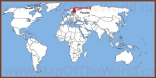 Финляндия на карте мира