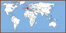 Франция на карте мира