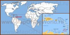 Гренада на карте мира