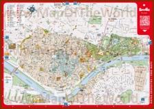 Подробная туристическая карта города Севилья