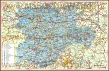 Подробная карта региона Кастилия и Леон