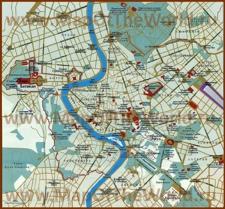 Карта достопримечательностей Рима на русском языке