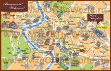 Туристическая карта центра Рима