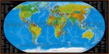 Карта доменных зон мира