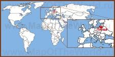 Литва на карте мира и Европы