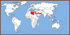 Ливия на карте мира