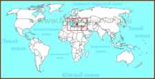 Эгейское море на карте мира