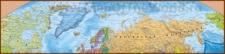 Подробная карта Северного-Ледовитого океана