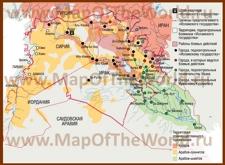Карта боевых действий ИГИЛ