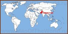 Пакистан на карте мира