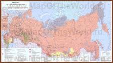 Религии на карте России