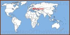 Румыния на карте мира