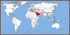 Саудовская Аравия на карте мира