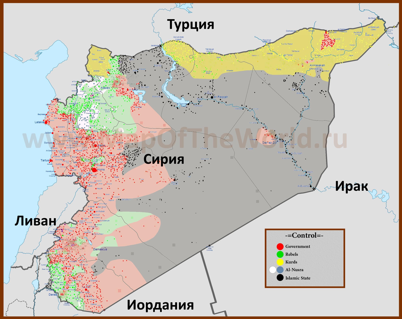 Картинки по запросу сирия политическая карта