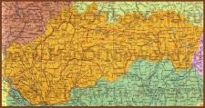 Карта Словакии на русском языке
