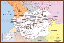 Подробная карта штата Трухильо