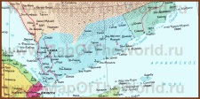 Карта Йемена на русском языке
